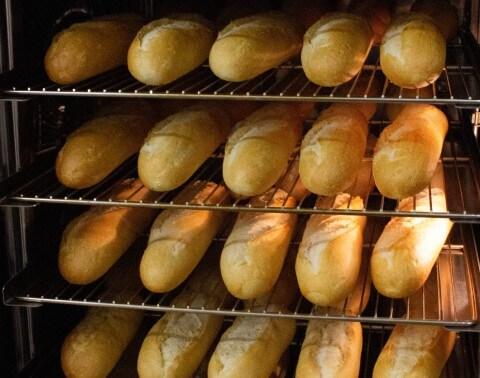 Ovenverse broodjes